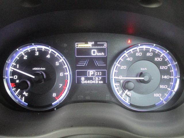 2.0GTアイサイト 4WD 走行44043Km ナビ バックカメラ ETC フルセグTV 衝突軽減ブレーキ 黒革シート シートヒーター パワーシート コーナーセンサー LEDヘッドライト スマートキー(17枚目)