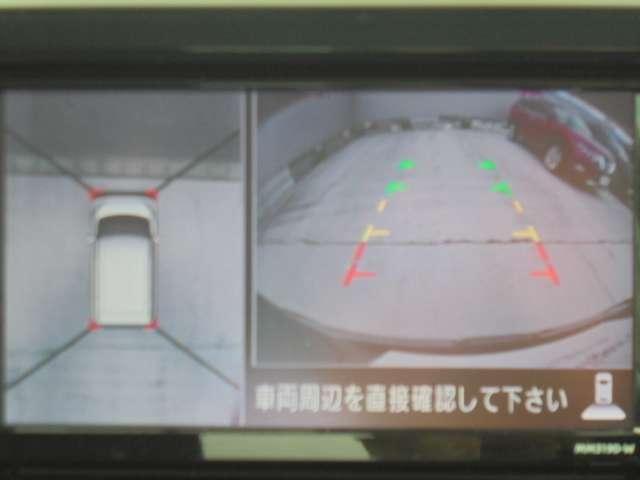 X Vセレクション アラウンドビューモニター ナビ取付PKG(5枚目)