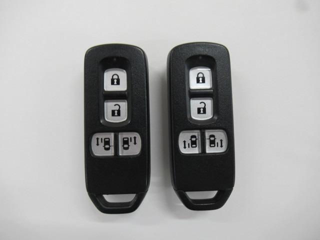 ホンダスマートキーは鍵穴を探すことなくエンジンの始動が可能!エンジン停止中であればスライドドアの開閉までできちゃいます!