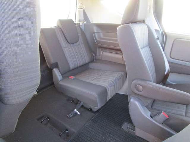 3rdシートも大人が座れるスペースを確保できます