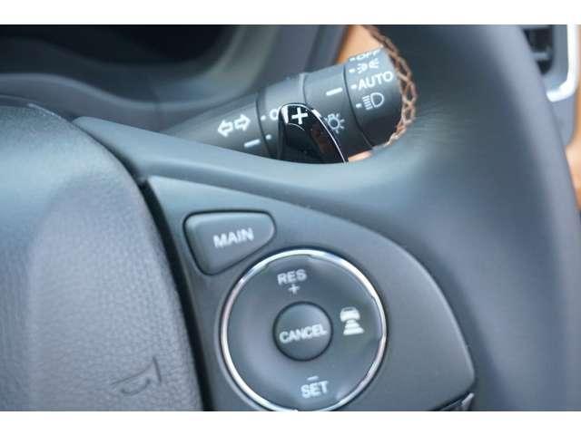 ハイブリッドZ・ホンダセンシング 当社デモカー 8インチ純正ナビ クルーズコントロール 地デジ アイドリングストップ シートヒーター ナビTV ETC メモリーナビ アルミ 盗難防止システム キーレス DVD再生 横滑り防止装置 CD(17枚目)