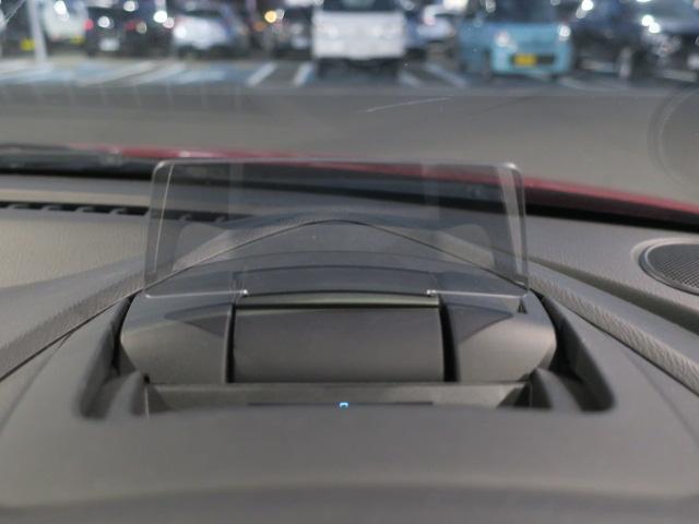 ドライビングディスプレイ付きだから目線を下げずにスピード確認!