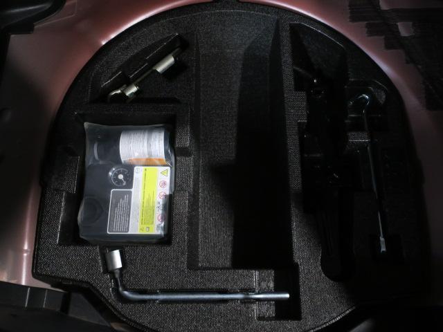 パンク修理キット装備です!