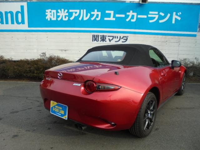 マツダ ロードスター 1.5 S スペシャルパッケージ Mナビ 9000キロ