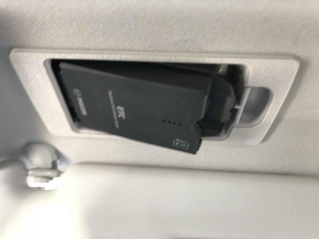 デンソー製ETCがサンバイザーの裏に装着されております。邪魔にならずスマートです。