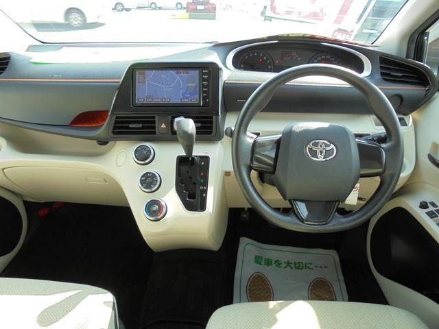 トヨタ シエンタ X SDナビ ワンセグTV バックモニター アイドリングST