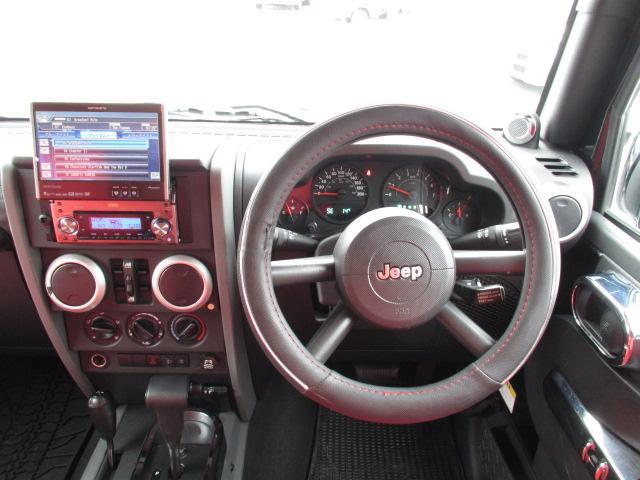 クライスラー・ジープ クライスラージープ ラングラーアンリミテッド スポーツ ディーラー車 MKW17アルミ HDDナビ ETC