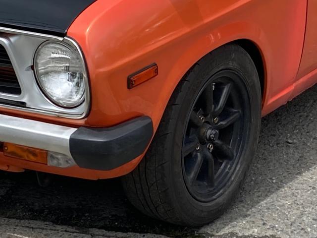 ロングDX 4速マニュアル 後期 ワタナベ13インチアルミ NOX適合 色替車 2人乗り(5枚目)