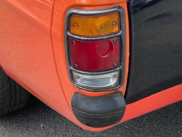 ロングDX 4速マニュアル 後期 ワタナベ13インチアルミ NOX適合 色替車 2人乗り(19枚目)
