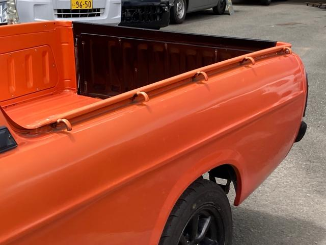 ロングDX 4速マニュアル 後期 ワタナベ13インチアルミ NOX適合 色替車 2人乗り(32枚目)