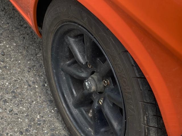 ロングDX 4速マニュアル 後期 ワタナベ13インチアルミ NOX適合 色替車 2人乗り(43枚目)