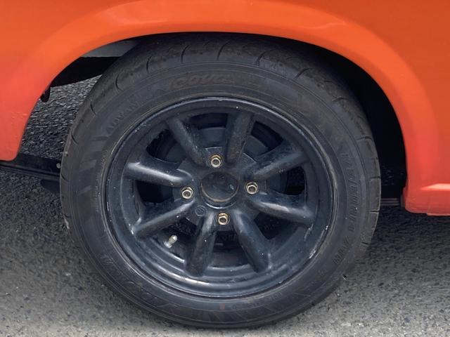 ロングDX 4速マニュアル 後期 ワタナベ13インチアルミ NOX適合 色替車 2人乗り(44枚目)
