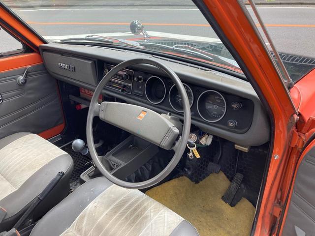 ロングDX 4速マニュアル 後期 ワタナベ13インチアルミ NOX適合 色替車 2人乗り(46枚目)
