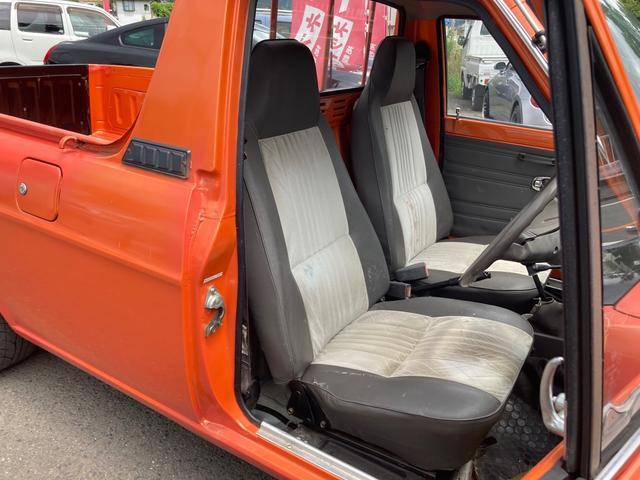 ロングDX 4速マニュアル 後期 ワタナベ13インチアルミ NOX適合 色替車 2人乗り(47枚目)