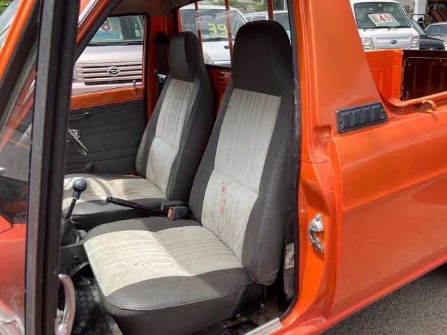 ロングDX 4速マニュアル 後期 ワタナベ13インチアルミ NOX適合 色替車 2人乗り(54枚目)