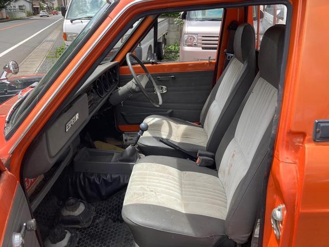 ロングDX 4速マニュアル 後期 ワタナベ13インチアルミ NOX適合 色替車 2人乗り(55枚目)