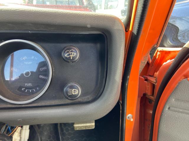 ロングDX 4速マニュアル 後期 ワタナベ13インチアルミ NOX適合 色替車 2人乗り(71枚目)