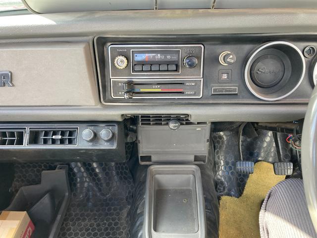ロングDX 4速マニュアル 後期 ワタナベ13インチアルミ NOX適合 色替車 2人乗り(72枚目)