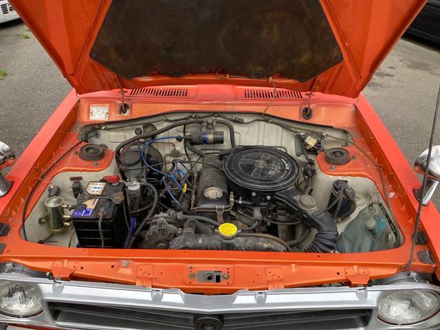 ロングDX 4速マニュアル 後期 ワタナベ13インチアルミ NOX適合 色替車 2人乗り(80枚目)