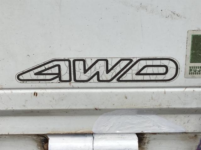 TC 4WD 5速マニュアル 三方開 クレーン付 公認済 ラジオ 運転席側エアバッグ エアコン パワーステアリング 社外13インチアルミ 最大積載量350kg(23枚目)