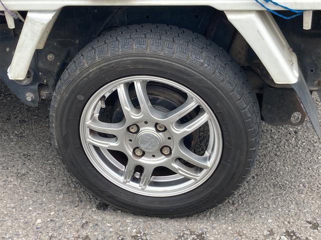 TC 4WD 5速マニュアル 三方開 クレーン付 公認済 ラジオ 運転席側エアバッグ エアコン パワーステアリング 社外13インチアルミ 最大積載量350kg(54枚目)
