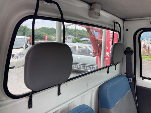 TC 4WD 5速マニュアル 三方開 クレーン付 公認済 ラジオ 運転席側エアバッグ エアコン パワーステアリング 社外13インチアルミ 最大積載量350kg(61枚目)