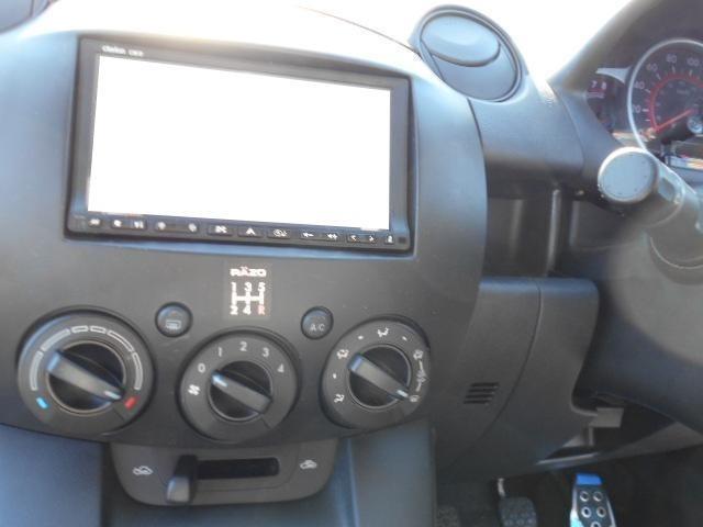 マツダ デミオ スポルト ワンオーナー HDDナビ  キーレス 5MT