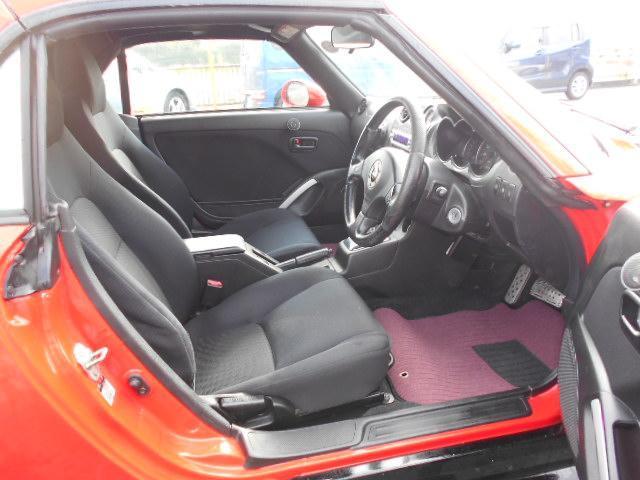 アクティブトップ 社外15インチアルミ 社外マフラー Rスポイラー ABS Wエアバック キーレス 車検令和3年9月 ターボタイマー 社外エアロ 新品フロアマット 新品バッテリー(13枚目)