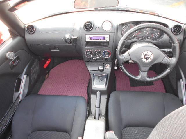 アクティブトップ 社外15インチアルミ 社外マフラー Rスポイラー ABS Wエアバック キーレス 車検令和3年9月 ターボタイマー 社外エアロ 新品フロアマット 新品バッテリー(14枚目)