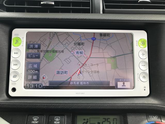 トヨタ アクア S キーレス ナビ ワンセグTV バックカメラ ETC