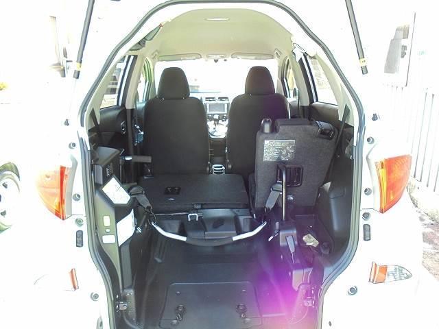 トヨタ ラクティス 車イス仕様車 タイプ1 助席Rシート付 非課税