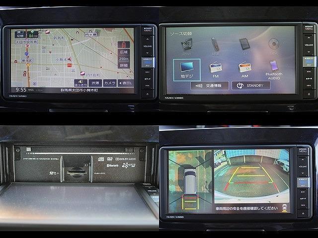 カスタムR スペシャル スマートアシスト 社外SDナビ フルセグTV ETC パノラマビューモニター 4WD 両側パワスラ スマーキー スマアシ ハーフレザーシート ピラーレス ステリモ 純正14インチアルミホイール LEDヘッドライト(68枚目)