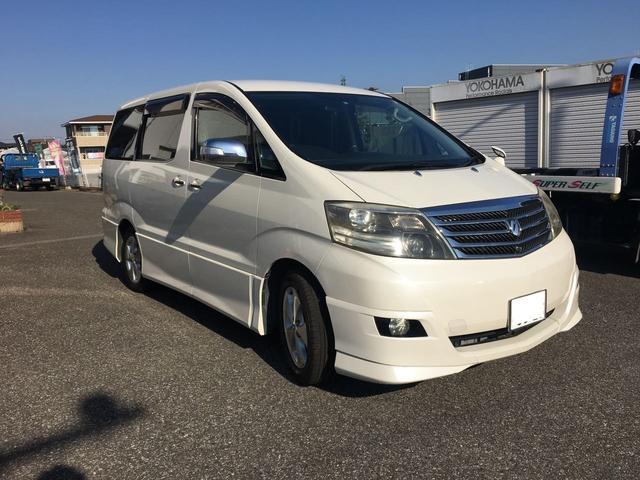 トヨタ アルファードG MS ビルトインETC ナビ