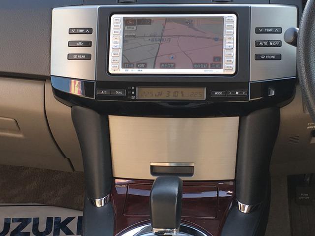 トヨタ マークX 250G Fパッケージ ナビ バックカメラ