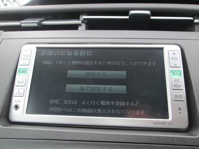 トヨタ プリウス S ワンオーナー HID DVDナビ プッシュスタート