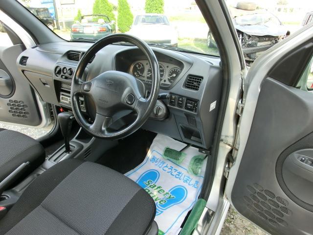 ダイハツ テリオスキッド カスタムLターボ 4WD エアロリヤスポ付きアルミホイール