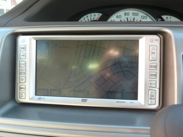 トヨタ ラウム Gパッケージ DVDナビ 左自動スライドドア キーレス CD