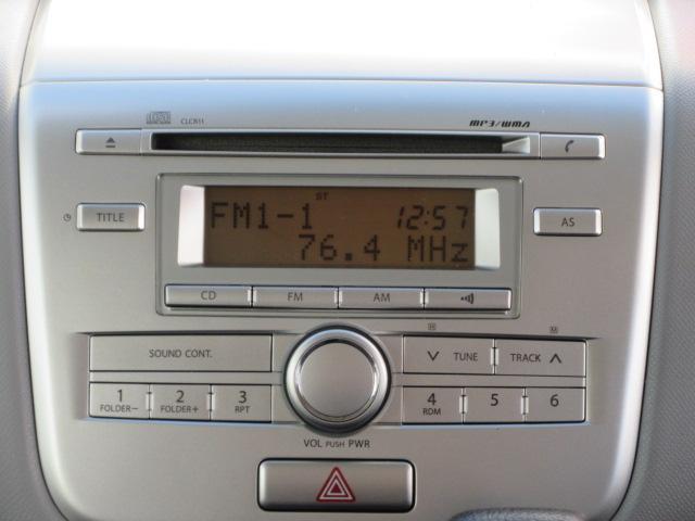 CD、ラジオ装着車(別途費用にて、社外ナビゲーション取り付けも出来ます)
