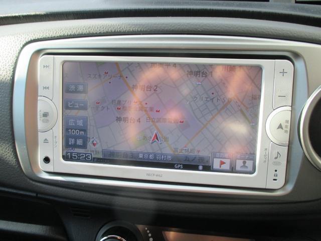 トヨタ ヴィッツ RS SDナビ ワンセグ バックカメラ HID スマートキー