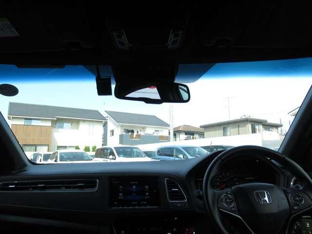 ハイブリッドRS・ホンダセンシング 8インチメモリーナビ・バックカメラ フルセグTV アイドリングストップ シートヒーター アルミホイール スマートキー ETC 衝突防止システム 盗難防止システム 記録簿 サイドエアバッグ(10枚目)