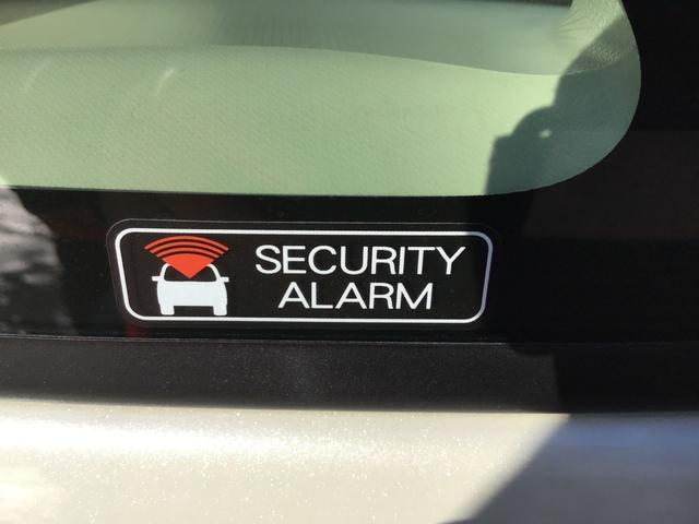 セキュリティアラームが不在時のお車をお守りします。