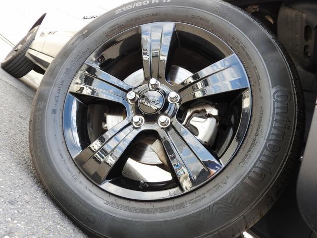 クライスラー・ジープ クライスラージープ コンパス アルティテュード スポーツ ブラックグリル&17inchAW