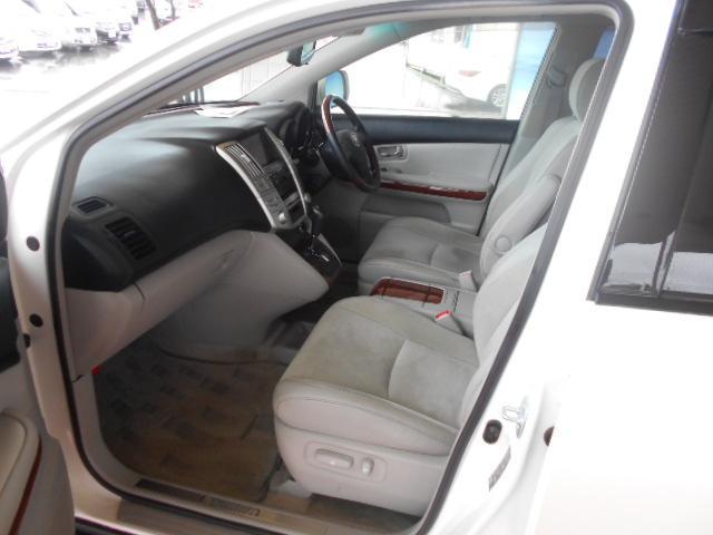 トヨタ ハリアー 240G Lパックアルカンターラ プライムV 純正HDDナビ