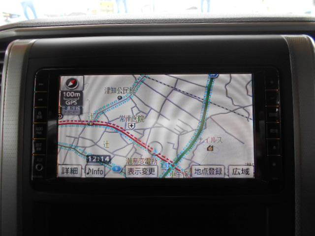 トヨタ ヴェルファイア 2.4Z 純正HDDナビ 地デジ バックカメラ スマートキー
