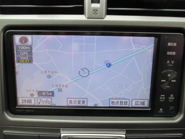 トヨタ ラクティス G SDナビ TV Bカメラ ETC