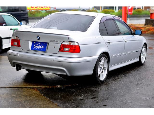 BMW BMW 525i Mスポーツ 17AW エアロ ローダウン 禁煙車