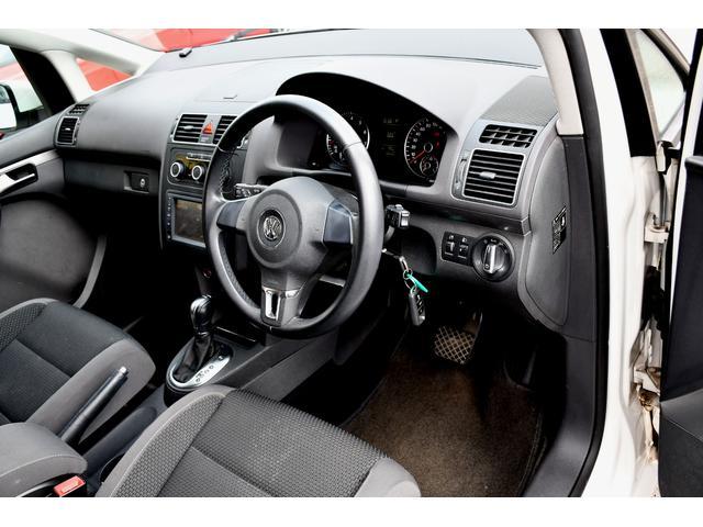 フォルクスワーゲン VW ゴルフトゥーラン TSI コンフォートライン ナビTV HID ワンオーナー