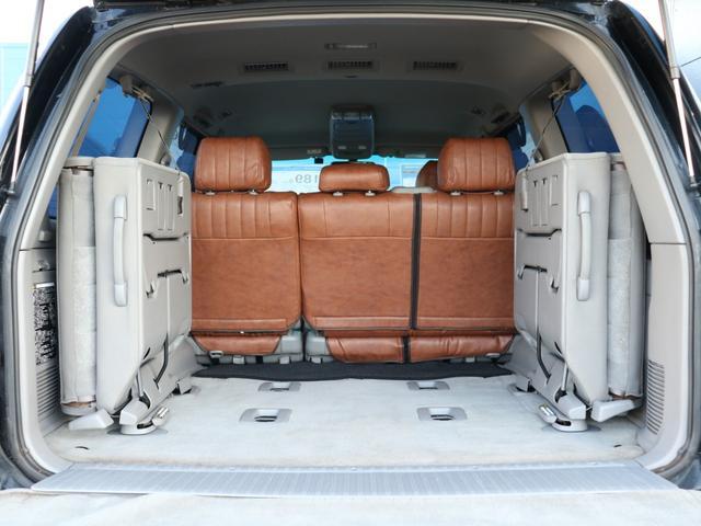 VXリミテッド オールペイントブラック マルチレス MKW22インチAW 社外305タイヤ 後期LOOKヘッドライト&テール ウッドコンビハンドル&シフトノブ 純正ETC(13枚目)