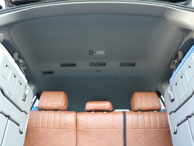 VXリミテッド オールペイントブラック マルチレス MKW22インチAW 社外305タイヤ 後期LOOKヘッドライト&テール ウッドコンビハンドル&シフトノブ 純正ETC(14枚目)