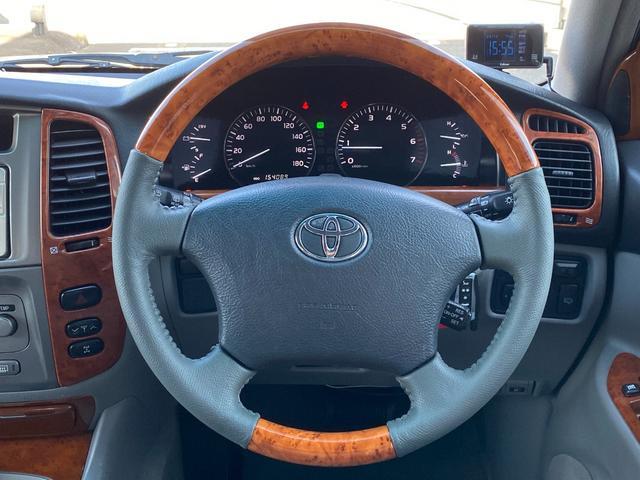 VXリミテッド オールペイントブラック マルチレス MKW22インチAW 社外305タイヤ 後期LOOKヘッドライト&テール ウッドコンビハンドル&シフトノブ 純正ETC(17枚目)